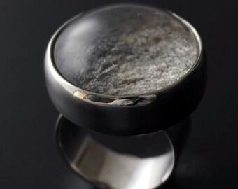 Silver Nebula Ring