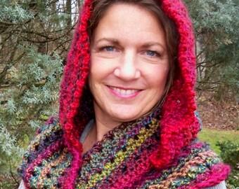Crochet Scoodie-hoodie-cowl-scarf