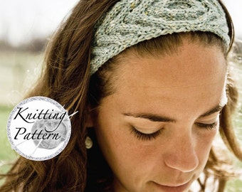 Knitting Patter for Women's Headband - Urban Bandit