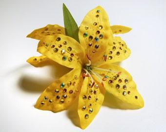 HAVOC Fleur - Yellow Double Lily