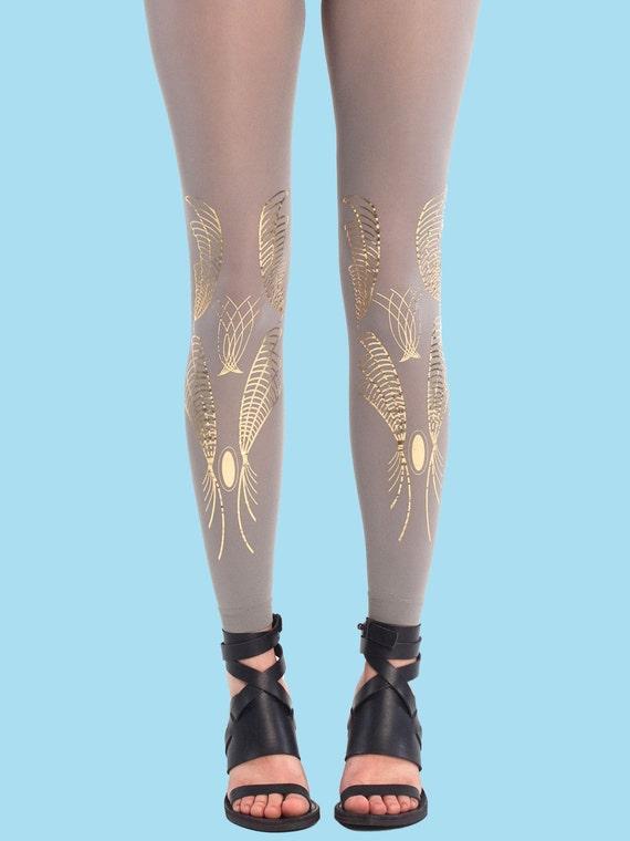 Holiday gift sale Leggings for women Galaxy gray leggings