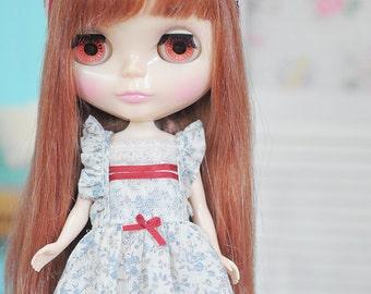 Blythe Ltttle red daisy.