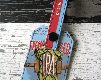 Fresh Squeezed IPA Luggage Tag