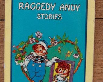 vintage 1920/77 children book RAGGEDY ANDY stories Johnny Gruelle sc