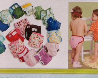 2011 sewing patterns Babyville Boutique cloth diapers made easy uncut