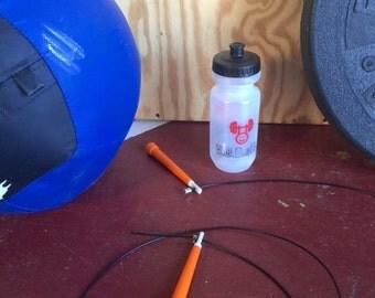 Wod'eRx Bottle. Crossfit Water Bottle. Weightlifting. Rx. 20 oz. Fitness Gift. Crossfit Gift. Crossfit Men. Crossfit Women. Hydration.