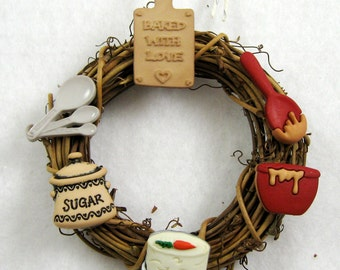 Baked With  Love Christmas Ornament 221