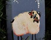 Sheep Decorative Small Bottle