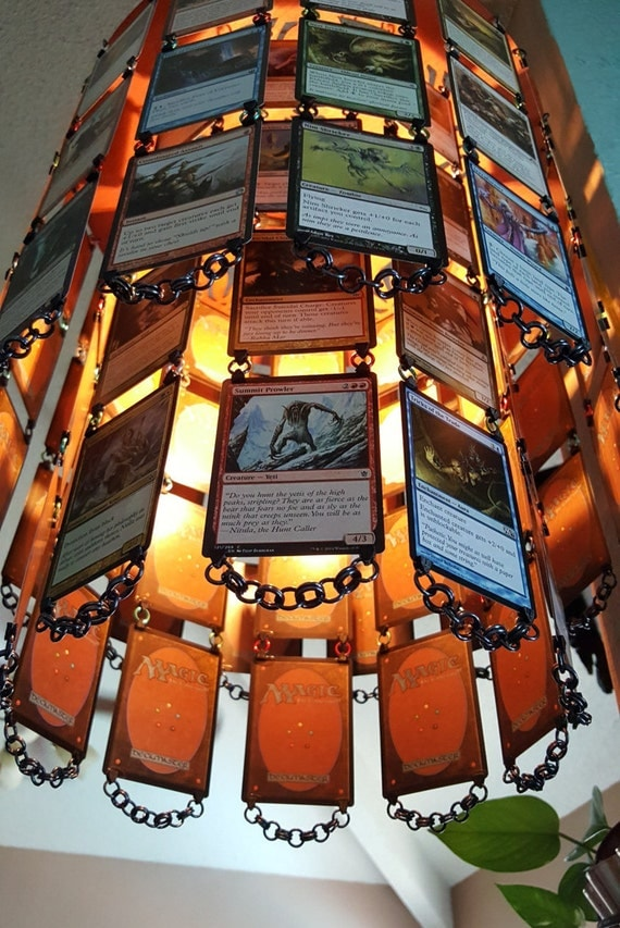 5 Color MTG Hanging Chandelier