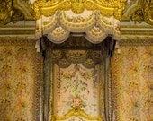 Versailles Photo Marie Anoinettes Bed France Print Paris Bedroom Decor Photograph Wall Art Home Decor par190