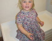 Beautiful liberty dress to suit a 2 year old little girl