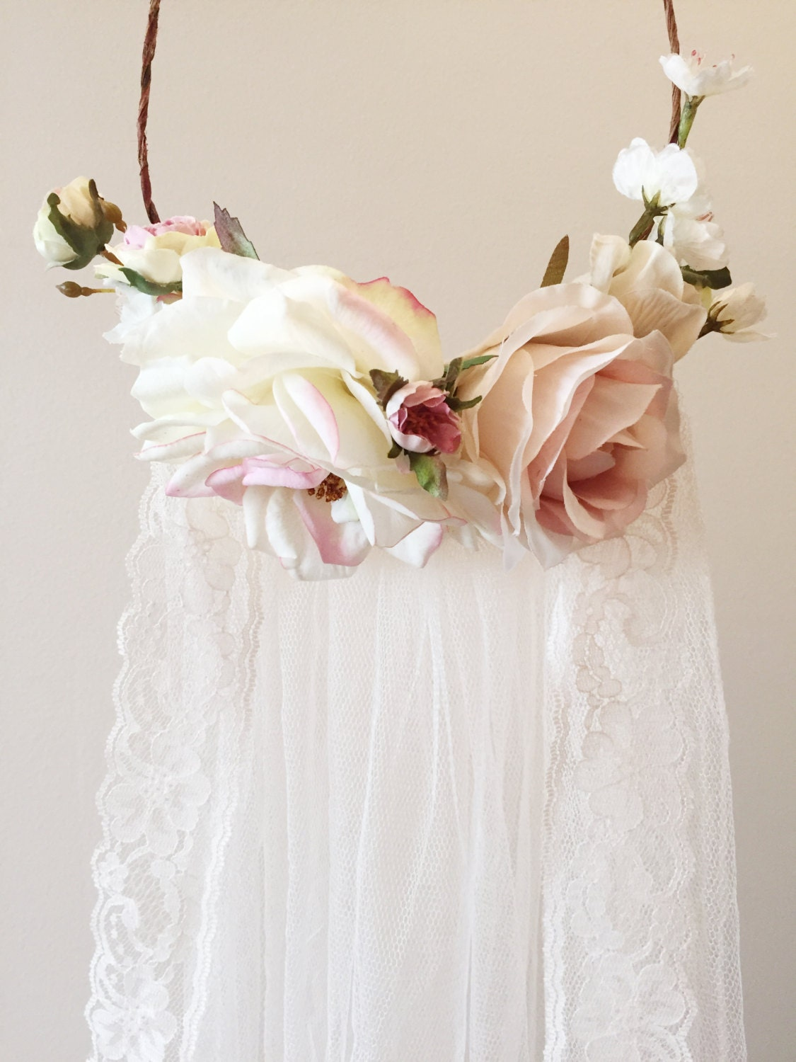 Images Of Flower Crown Wedding Veil Spacehero
