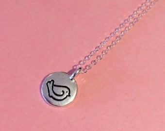 Silver bird necklace, bird charm necklace, bird pendant, bird jewelry