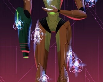 Mother Metroid - Print