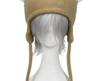 Fawn Doe Deer Fleece Aviator Hat of Lovely Meadow Goodness