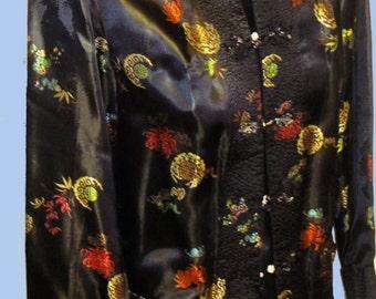 Women's Vintage Asian Reversible jacket Sz S
