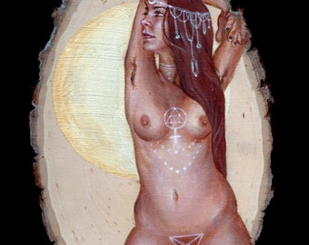 Yas Queen! limited edition moon goddess print