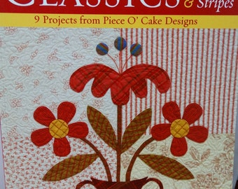 Contemporary Classics,Plaids and Stripes,by Piece O Cake,Quilt Patterns,Quilt Books
