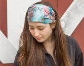 Linen Headband Bohemian Fabric Headband Boho Headscarves Women's Headband Wide Headband Headwrap Head Scarf Hair Bandana (#4713) S M L X