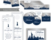 Custom Designed Suite for Guest Bags (Map, Door Hangers, Stickers, Water Labels)