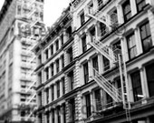 Black White Photos, New York Photography, Large Wall Art, SoHo Architecture, NYC Art, Cast Iron Historic District Photos, SOHO Prints