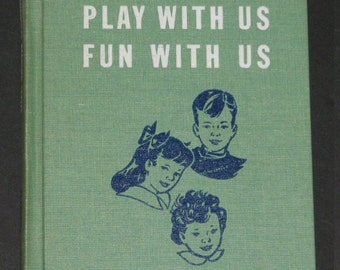 1949 Three of Us Play with Us Fun with Us TEACHERS Edition all 3 preprimers book