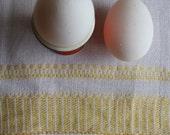 Vintage Swedish Handwovens: Golden Rule