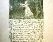 William Blake Book Songs of Innocence Poetry Art 1926 Minton Balch & Co