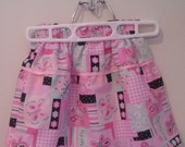 Toddlers Twirl Skirt With Butterflies size 4 One of a Kind