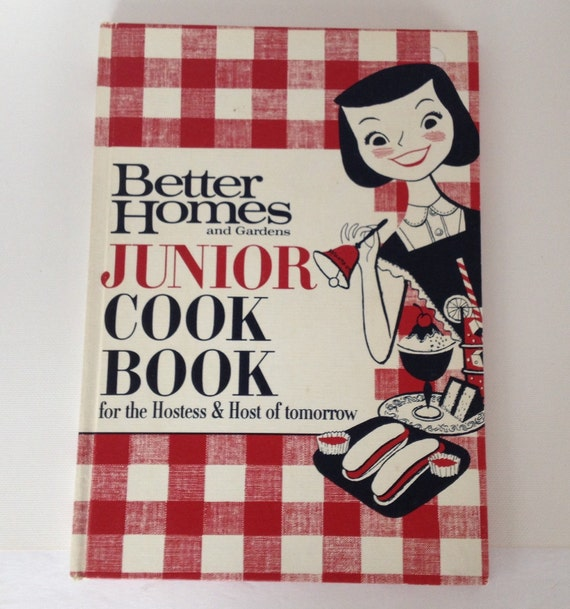 Better Homes And Gardens Junior Cookbook 1963 Kid 39 S Cook
