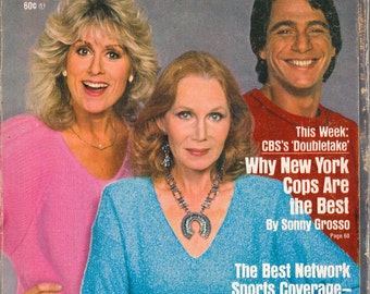 1985 TV Guide - Judith Light, Katherine Helmond, Tony Danza of (Who's The Boss?) on Cover - Guide # 1704 - VG Complete