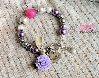 Our love is Semper Fi, marine wife bracelet, usmc wife jewelry, usmc bracelet, marine girlfriend, usmc girlfriend