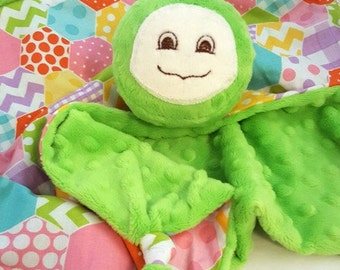 Turtle Security Blanket, Baby Blanket, Lovey, Baby Girl, Baby Toy, Teething Blanket, Turtle Nursery, Children and Babies, Stuffed Plush