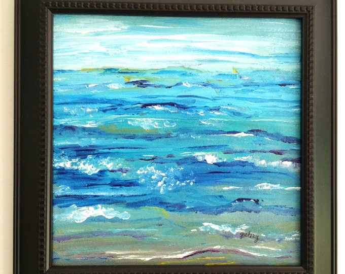 Ocean Abstract Original Painting