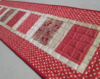 Quilted Long Table Runner