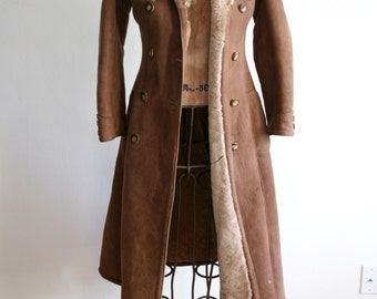 Suede Sheepskin Curly Fur Coat