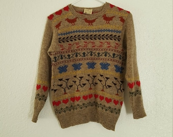 Sweetheart Sweater 1970's