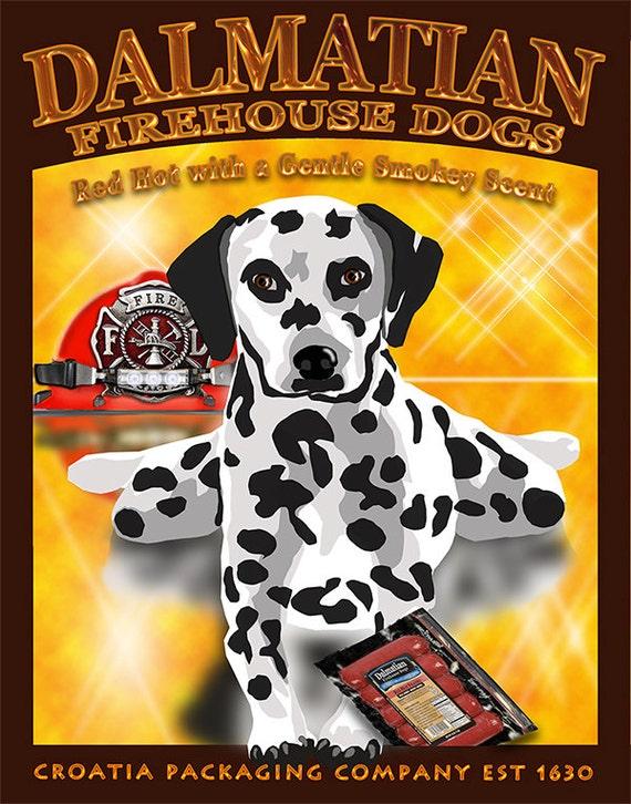 YOLO, have fun, Dalmatian Dog, Dog Breed, Comical Pet Art, Unique dog Art, Custom Pet Art,Dog Lover Gift, Dog Art Print, From Your Photos