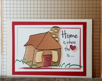 Housewarming Card - Funny New Home Card - Congratulations New House Card - Funny First House Card - First Home Card and Matching Envelope