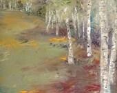 Birchfield - Original Oil Painting - 16 x 20 Oil on Canvas