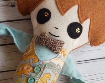 Philip Boy Plush Art Doll
