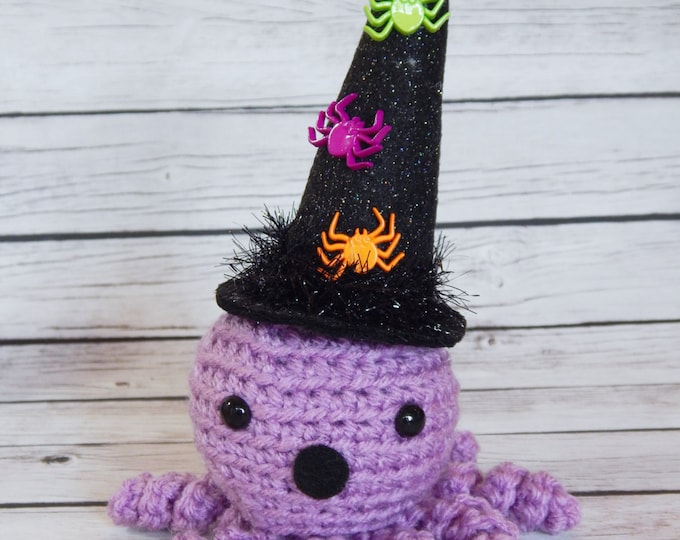 Amigurumi Octopus Doll Party Hat Little Swimmers