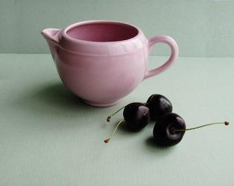 Vintage Vernonware Modern California Creamer Orchid Pink Vernon Kilns Metlox Poppytrail