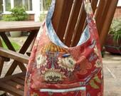 Autumn boho bag, proceeds to charity