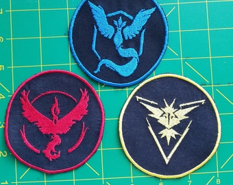 Pokemon Go Valor, Mystic, Instinct patch