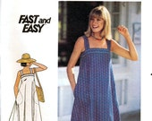 Butterick 5370 Vintage 70s Misses' Dress Sewing Pattern - Uncut - Sizes 8 or 10