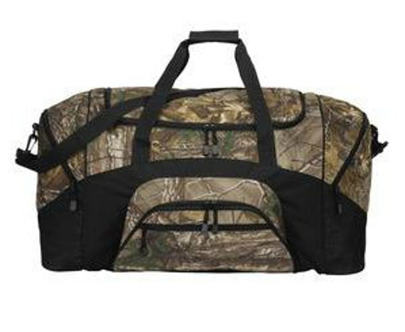 Camouflage Colorblock Sports Duffel