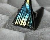 Triangle Aurora Ring