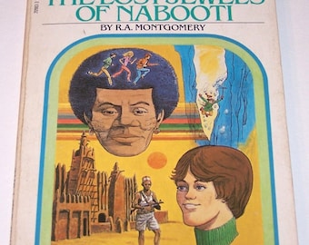 Choose Your Own Adventure #10: The Lost Jewels of Nabooti by R.A. Montgomery, paperback
