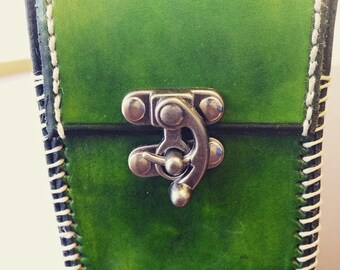 Solid Color Leather Deck Box for CCG/ TCG / MTG Custom Dyed
